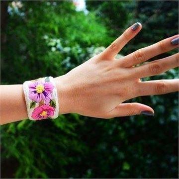 Mis Eller Koleksiyonu / Mis Pembe Çiçek resmi
