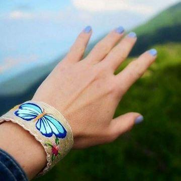 Picture of Mis Eller Koleksiyonu / Mavi Kelebek