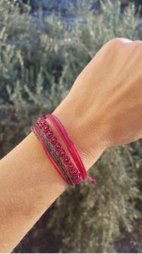 Picture of Pink  Glam Bileklik