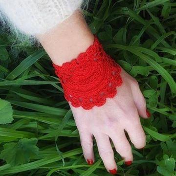 Picture of Mis Dantel Bileklik  / Kırmızı