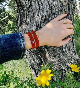 Picture of Mis Wrap Bileklik / Kırmızı