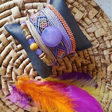 Orange Loves Lilac resmi