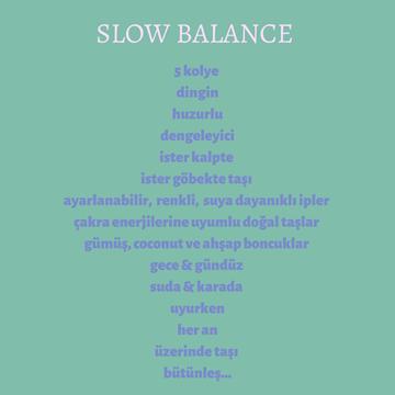 Slow Balance Kolye / Seed resmi