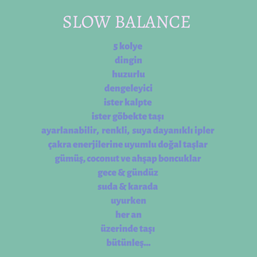 Picture of Slow Balance Kolye / Tam Denge